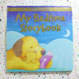 My bed time story book / buku anak tebal / hard cover / texture book