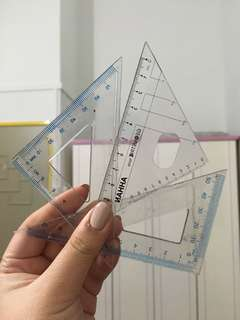 Set Square/ Triangle/ Right Angle Rulers