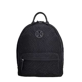 Tory Burch Ella Nylon Quilted Backpack
