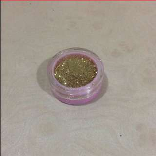 Gold Shinny Glitters Make-up (Brand New In Tub)
