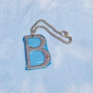 "Letter ""B"" Bag Accessory"