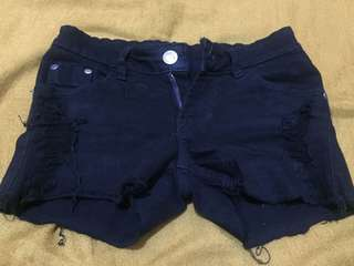 Hot pant jeans