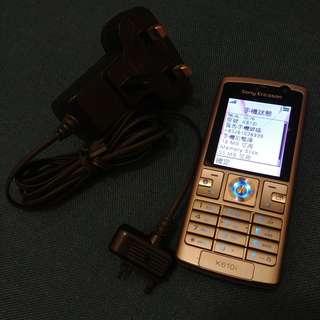95%新 Sony Ericsson 銀灰色 K610i 連 64MB M2 Card & 充電器 火牛 (SE)