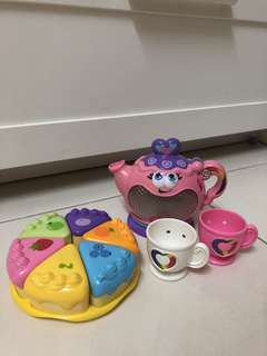 Leapfrog Rainbow Tea Party Set