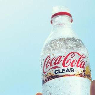 #RARE #LimitedEdition 500ml Coca-Cola Clear Direct From Japan [ Available Now!! ]