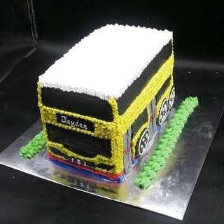 巴士蛋糕 三磅