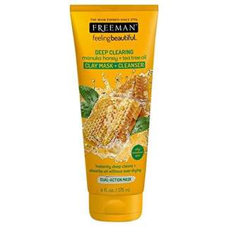 FREEMAN MASK MANUKA HONEY TEA TREE OIL