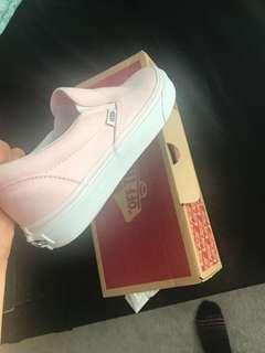 Pink Van slides size 7 women