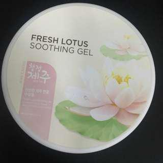 FRESH LOTUS SOOTHING GEL (FACE SHOP)