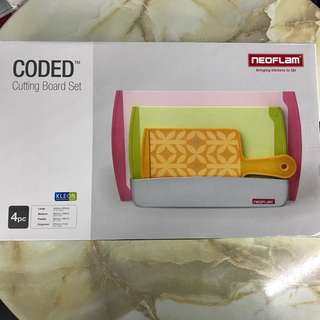 Neoflam Coded Cutting Board