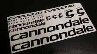 Cannondale frame decal sticker set