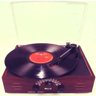 SCEOLIKE Vinyl Record Player (Turntable)
