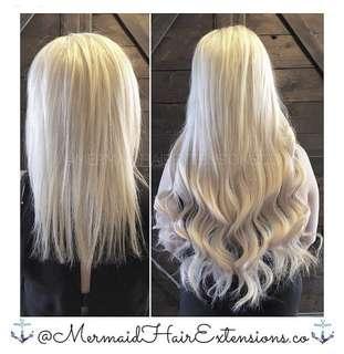 ✨MERMAID HAIR EXTENSIONS✨Premium hair extension services!