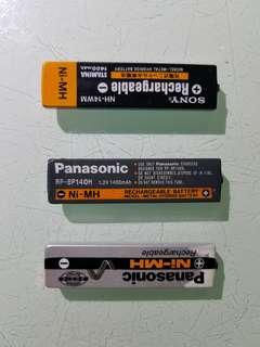 二手 香口膠電池  每粒50元 md機 cd機 使用