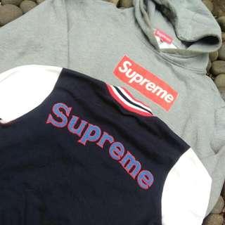 Hoodie Supreme & Varsity Supreme