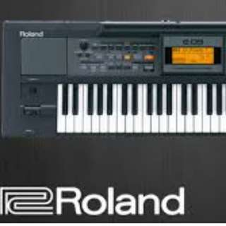 Keyboard Roland E-09 w/ Stand and Switch Foot