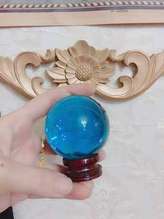 Blue Crystal ball