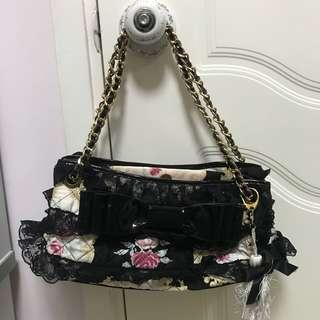 Jesus Diamante lolita classic 花chain bag