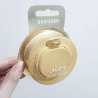 ONLY JULY 10-12, SAMSUNG GEAR CHARM in White BNIB