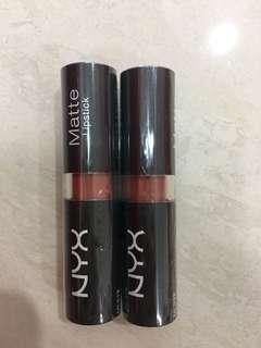 NYX Matte Lipstick - Sierra