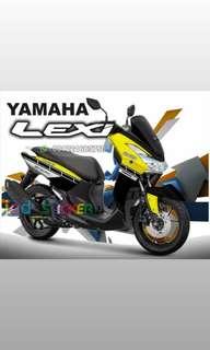 Decal yamaha lexi yellow gtafis icd