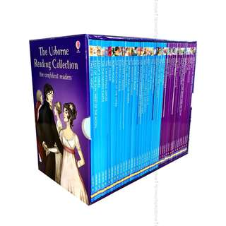 🚚 The Usborne Reading Collection for Confident Readers Collection Boxset Gift ( All Paperback Books and Brand New )