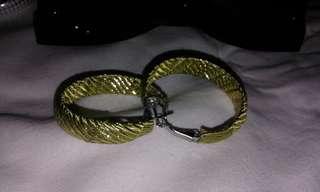 Metallic Loop Earrings
