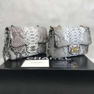 Chanel Mini Flap Phyton 1,55