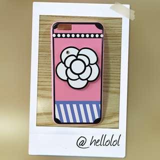 iPhone 6s Plus 手機殼 茶花鏡子