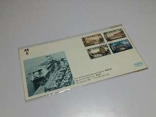 (1982年香港今昔)首日封