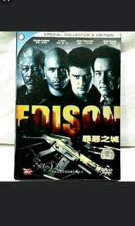 EDISON (starring Morgan Freeman, Justin Timberlake) DVD.