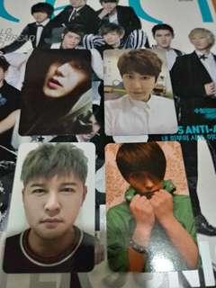 Super Junior Kyuhyun Yesung Sungmin Shindong Photocards