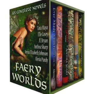 🚚 Faery Worlds - Six Complete Novels