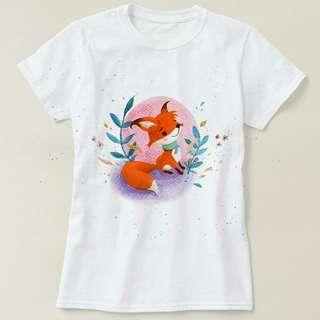 小紅狐T-shirt
