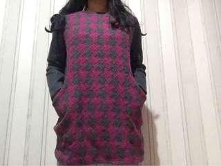 Sweater abu pink