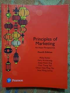 "MKT1705/MKT1705X/MKT1003/MKT1003X Textbook ""Principles of Marketing - An Asian Perspective"""