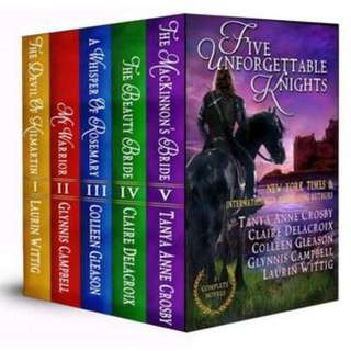 🚚 Five Unforgettable Knights Boxset