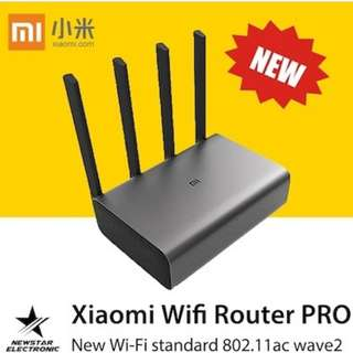 [2017 NEW !] Xiaomi Mi WiFi Router Pro Grey [Sealed Set] SG Seller! Router 4
