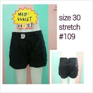 US cotton shorts