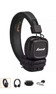 Marshall Major II Bluetooth Over-The-Ear Headphone