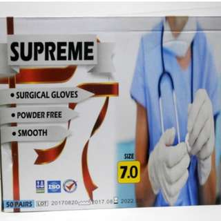Surgical Latex Gloves Sterile POWDER FREE 50's