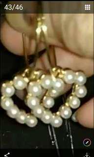 🚚 心型耳環