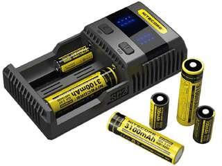 BNIB Nitecore SC2 charger