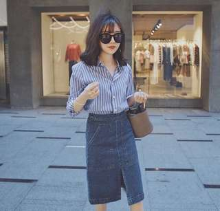 🚚 ✨日韓美著✨韓版氣質OL襯衫shirt