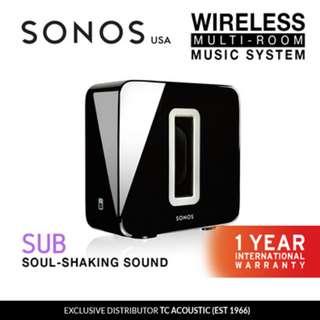 [Sonos]Sonos Sub Wireless Subwoofer (Exclusive Distributor 1 Year International Warranty)