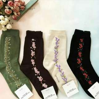 Side Socks (Buy 4 pairs for 400.00)