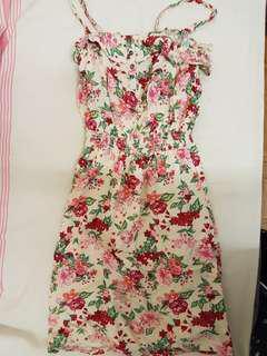 Garage XS Floral Dress