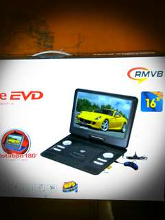Portable DVD Player with tv tuner.