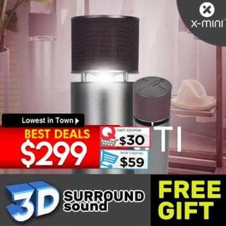 X-mini™ INFINITI 360° 3D Speakers
