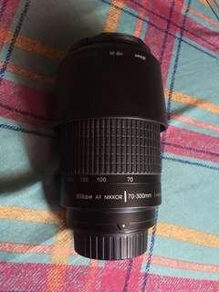 Nikkor AF Zoom 70-300mm f/4-5.6G Lens Nikon